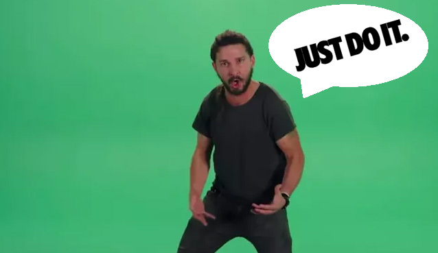 shia labeouf just do it motivational