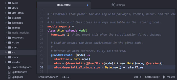 atom text editor neutron dev