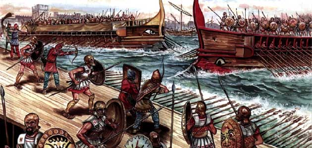 painting of peloponnesian war