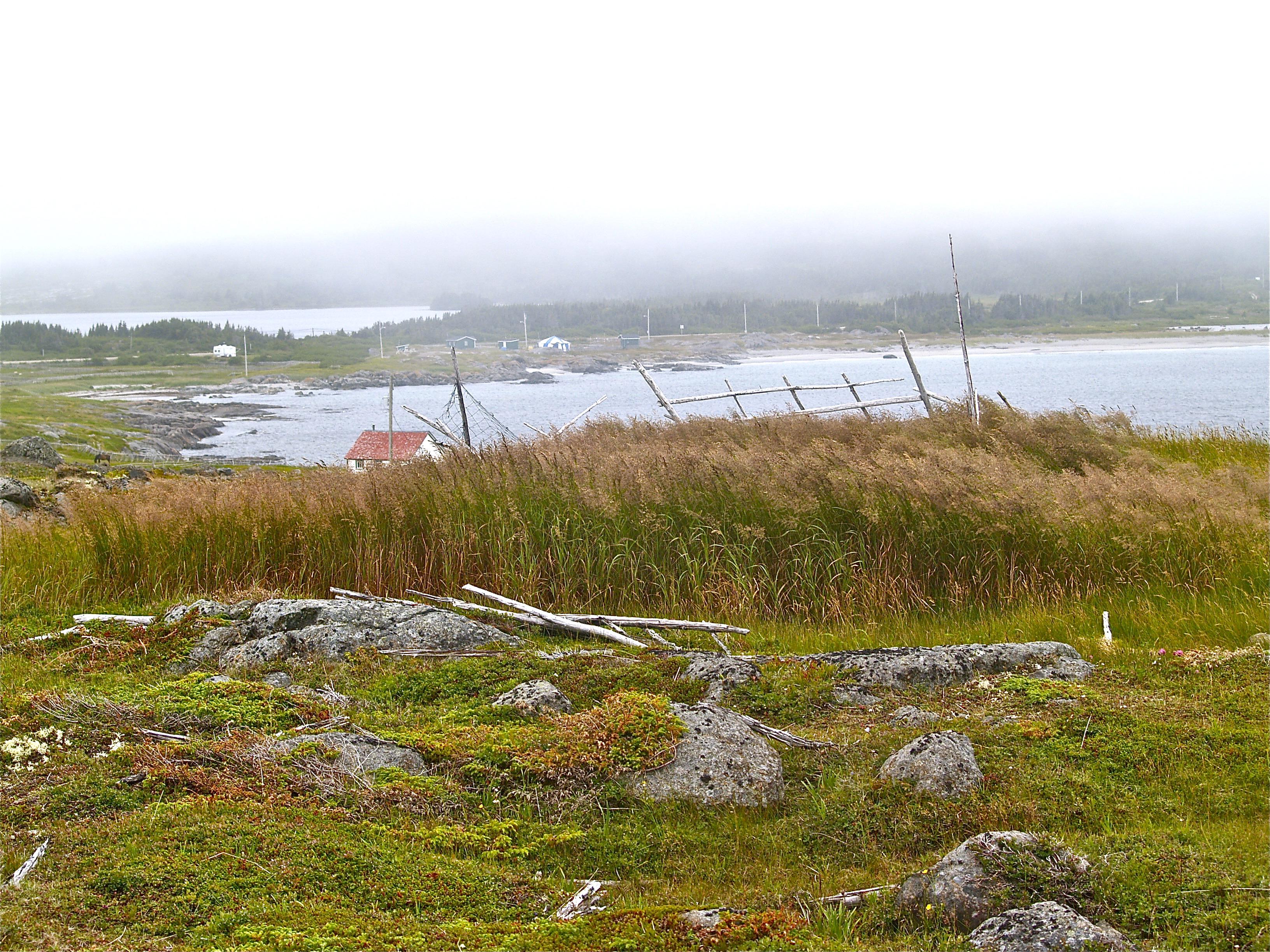 Un peu de la beauté troublante de la communauté de Tilting, Fogo Island. Photo : Jacinthe Tremblay