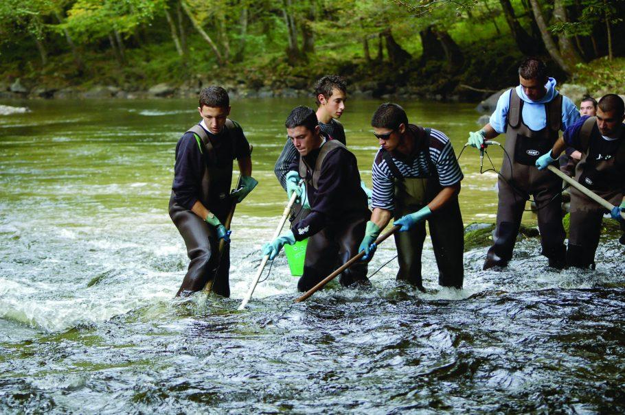 bac pro GMNF option faune aquatique