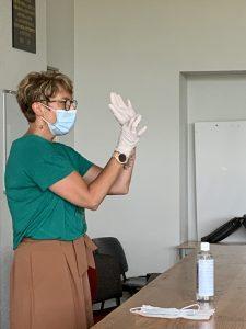 2020 protocole sanitaire expliqué aux étudiants de l'ecole forestiere de meymac