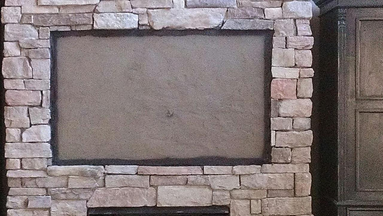 Flat Screen Installation On A Brick Wall Or Fireplace