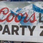 Coors Light Party Zone