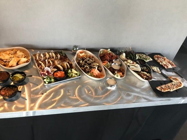 Food at Top Golf
