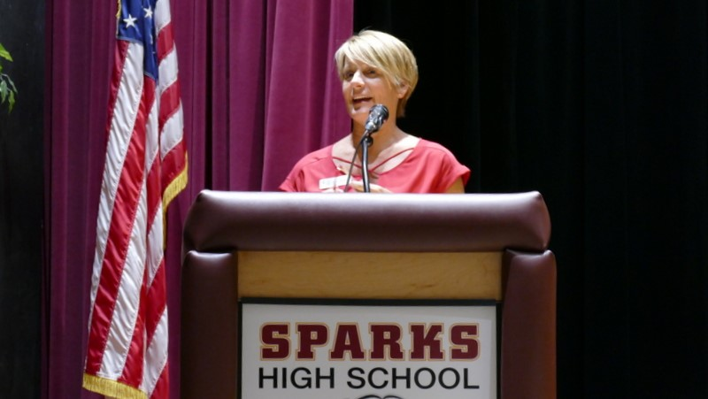 Pam Speaking