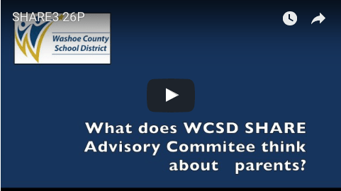 SHARE Advisory Committee's view on parents