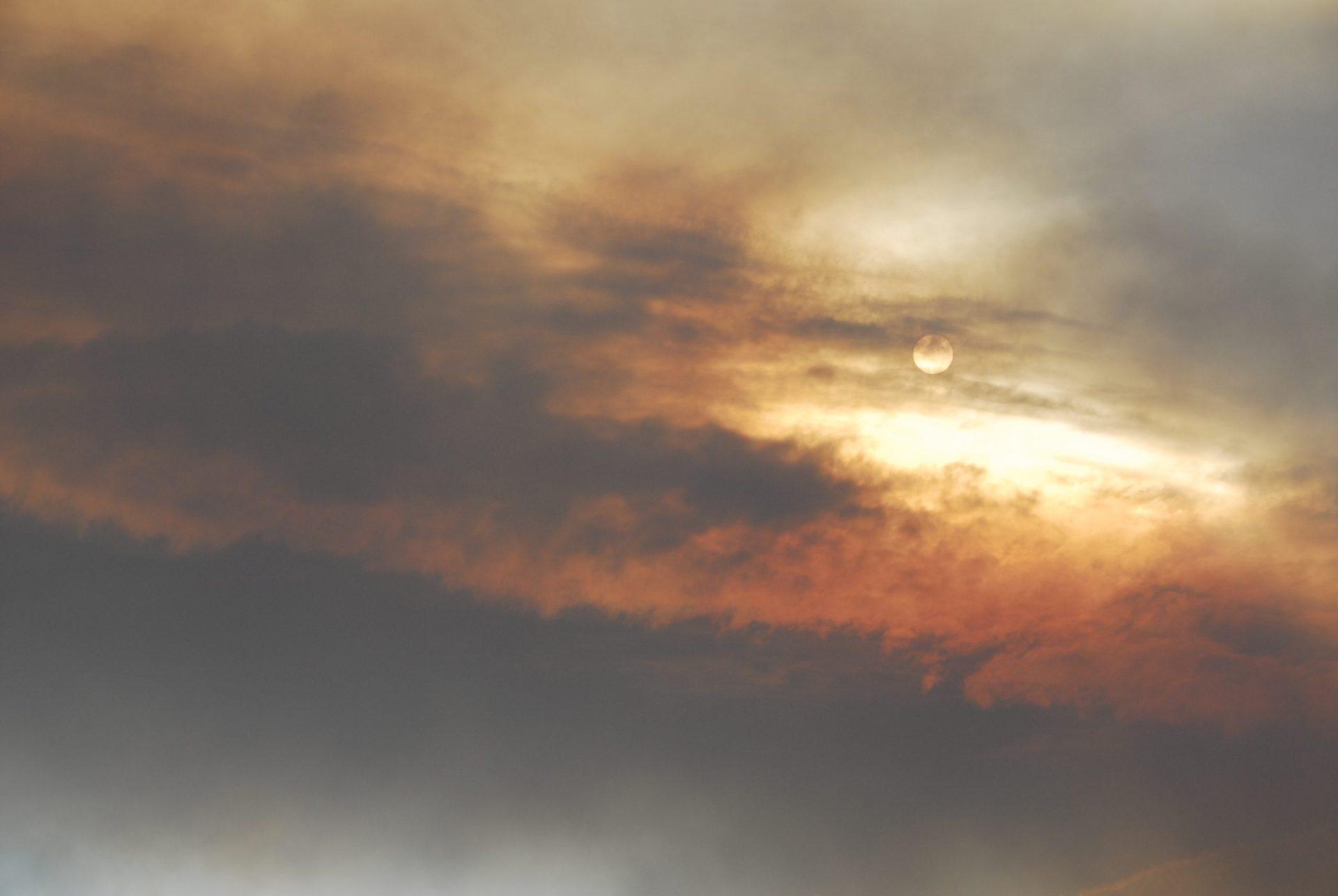 Smoky skies in the Great Basin. Image: Bob Conrad.