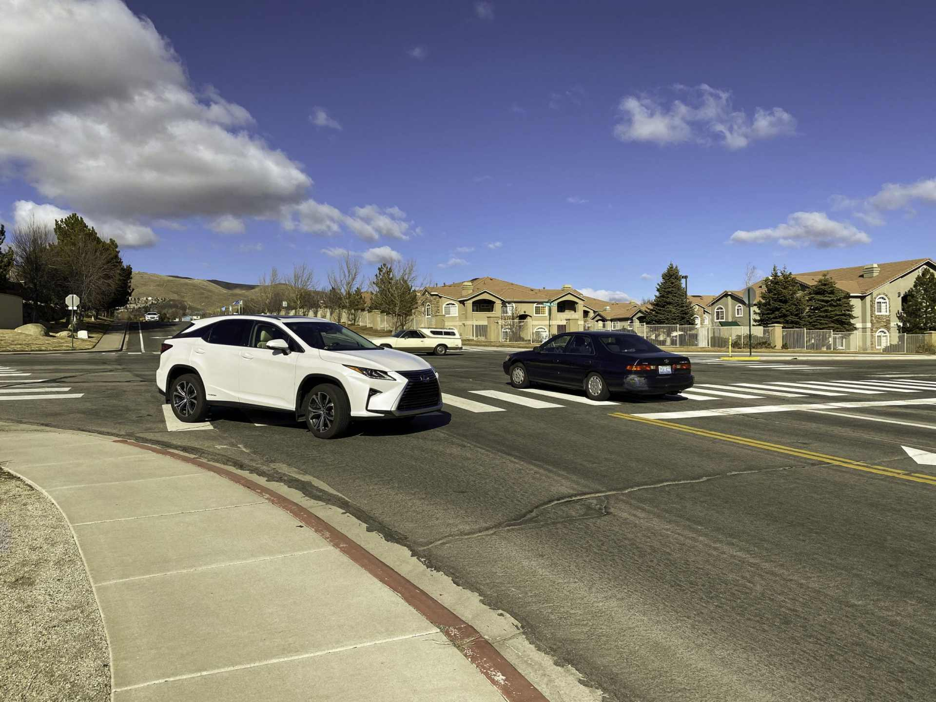 traffic cars driving