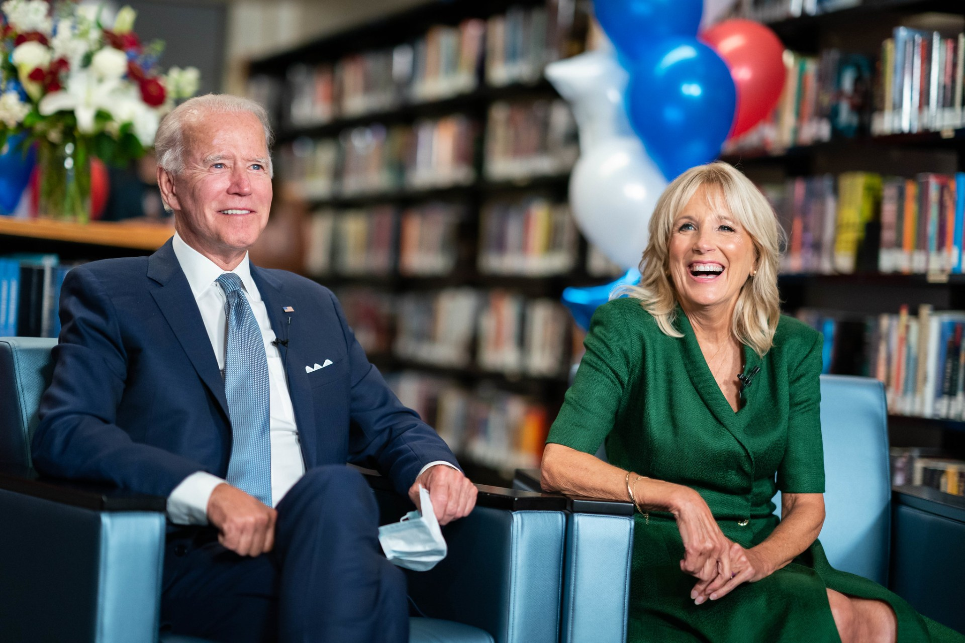 Joe and Jill Biden.