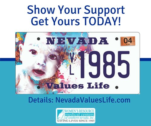 Show Your Support NV Values Life