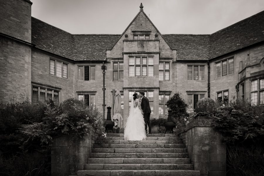 Foxhill Manor, couple walking up the steps