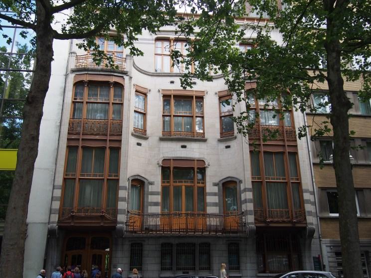 Sumptious Hôtel Solvay - unfortunately almost never open.