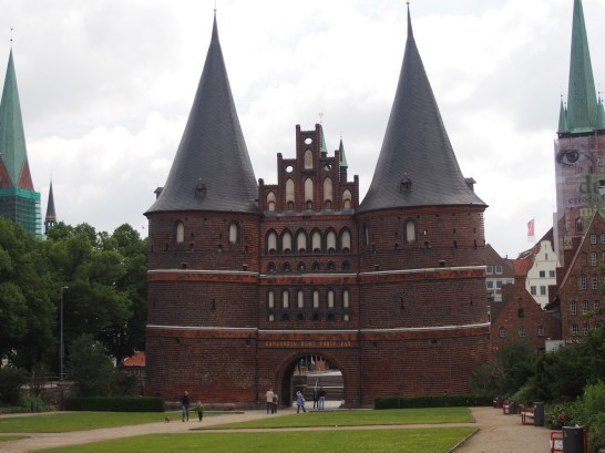 The famous Holstentor, the main city gate.
