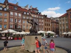 Mermaid, the symbol of Warsaw