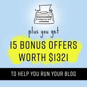 Bonus Offers |www.neveralonemom.com