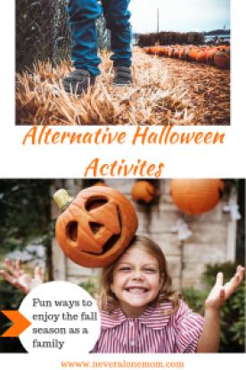 Alternative Halloween ideas!   neveralonemom.com