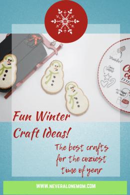 Winter crafts ideeas! |neveralonemom.com