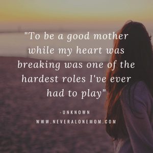 single mother quote   neveralonemom.com