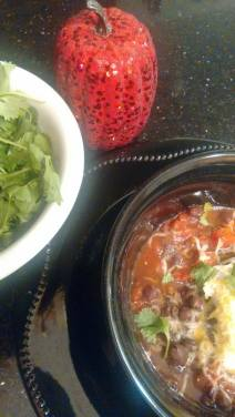 black bean soup. |neveralonemom.com