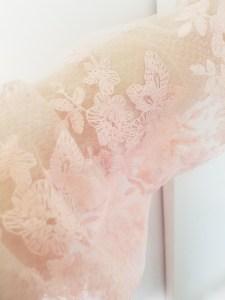 Femme Luve Mesh Sleeve Top Closeup | http://femmeluxefinery.co.uk/