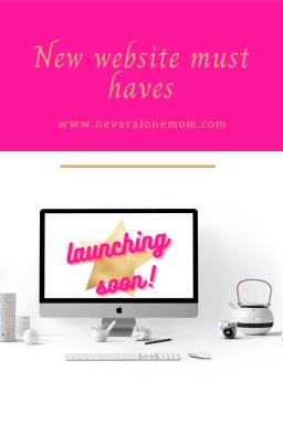 Top website must haves! |neveralonemom.com