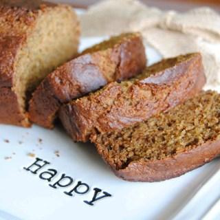 Whole Wheat Banana Bread | NeverAnyThyme.com