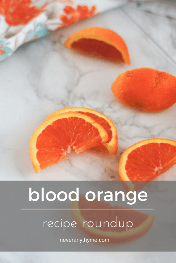 blood orange recipe roundup