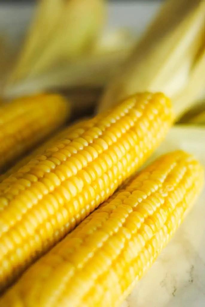 Oven roasted corn