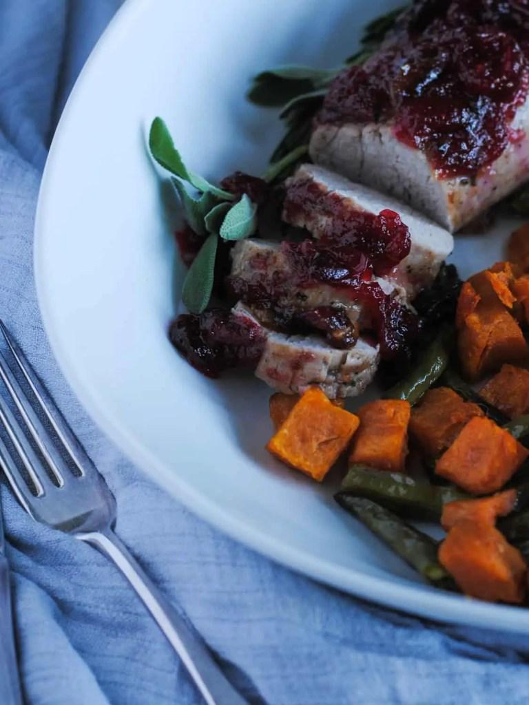 cranberry pork loin recipe