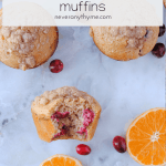 fresh cranberry orange muffins