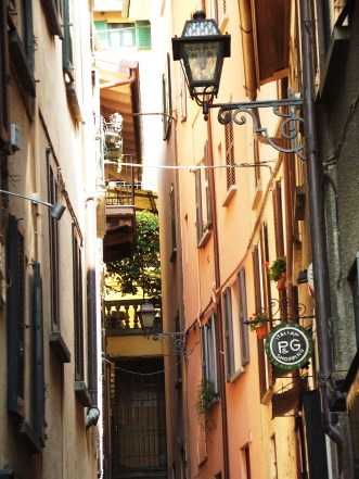 Bellagio streets