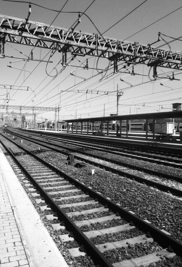 Lines in Rome (Tiburtina station)