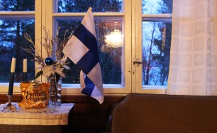 Inside the traditional Finnish house - Hauho, Finland (7)