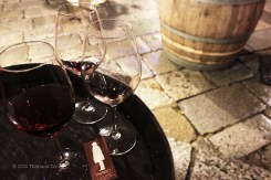 Wine at Tabarro 2 - Parma, Italy
