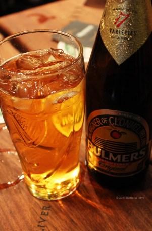 Cider at the Oliver St. John Gogarty pub - St. Patrick's Holiday 2014