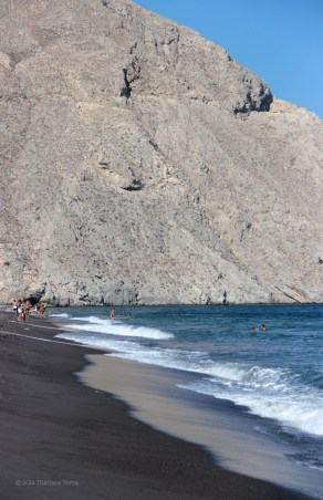 Santorini Series (Gallery 3): Perivolos and Perissa Beach - the black sand under my feet (5)