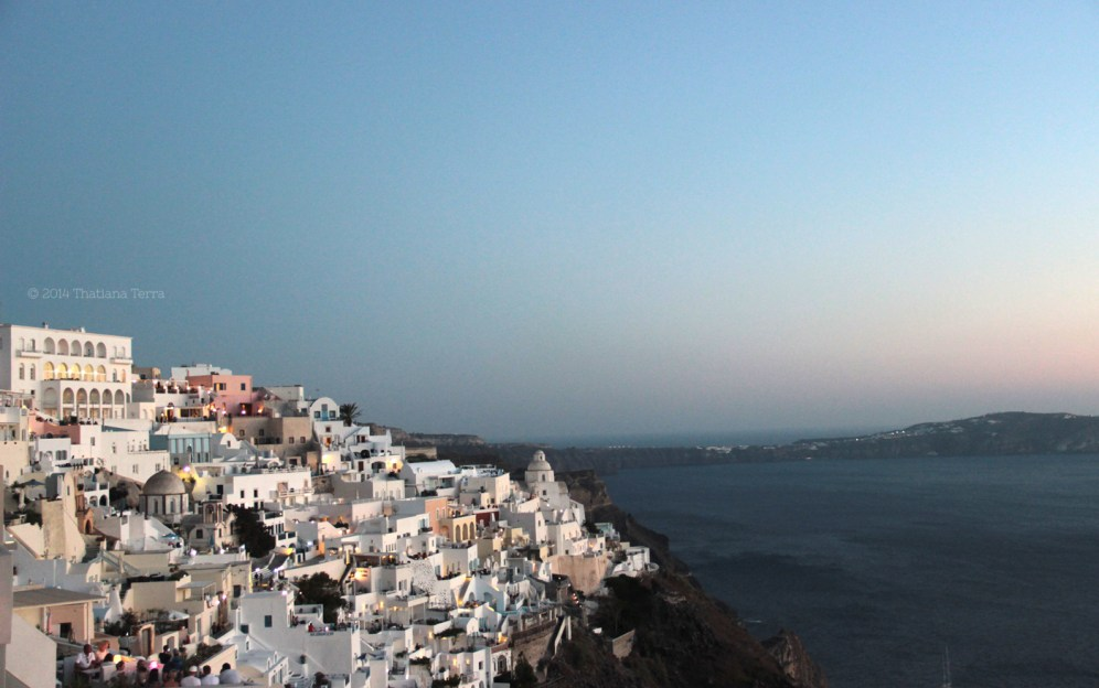 Santorini Series: When the sun begins to set in Fira (13)