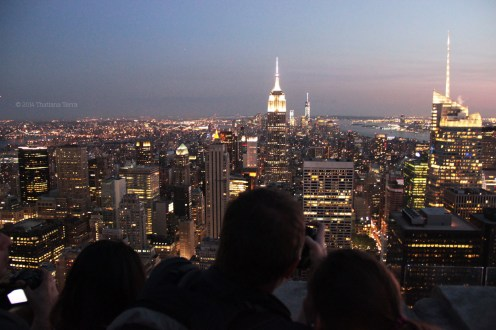 New York: From the top of the Rock (3)