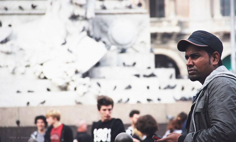 Milan: Duomo guys (2)