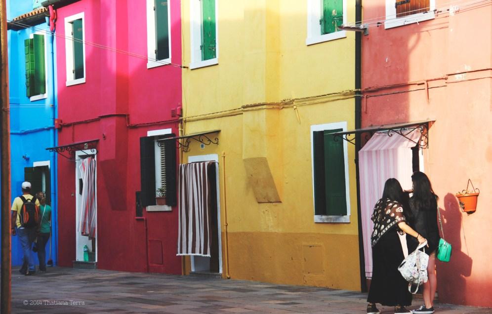 Burano: Blues, yellows and pinks (6)