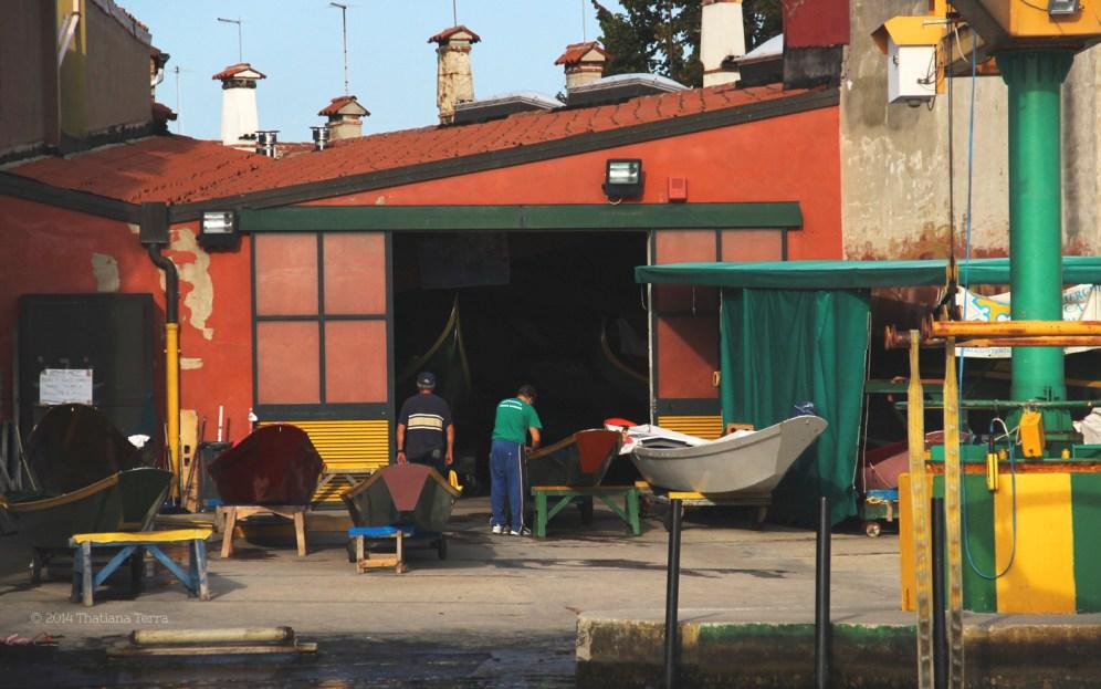 Burano: Reds, oranges and greens (1)