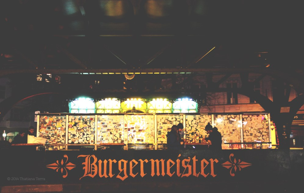 Berlin: Street food (6) - Burgermeister: The best burger in town!