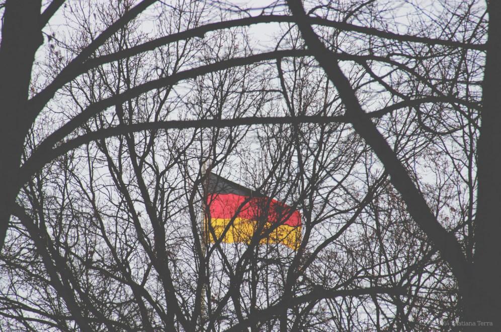 Berlin: Behind trees and leaves (2)