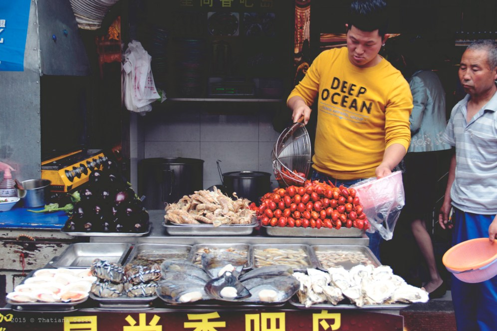 China: Street food at the Old Town, Shanghai (2)
