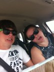 This picture basically sums up me and my brother. We're just a little off.