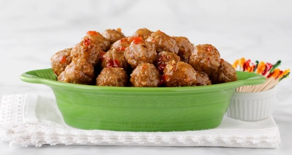Sweet Chili Party Meatballs