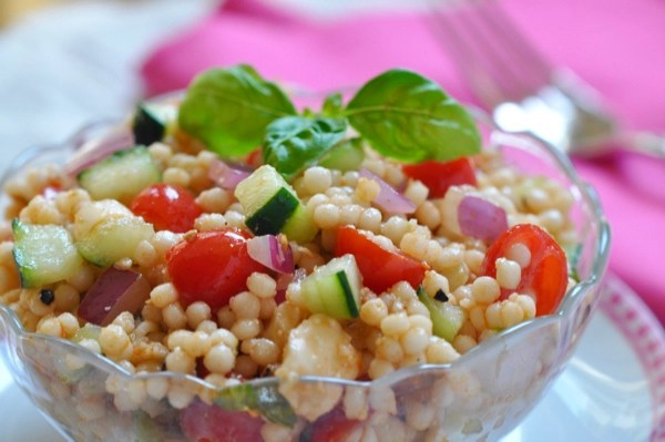 Bruschetta Couscous Salad Recipe