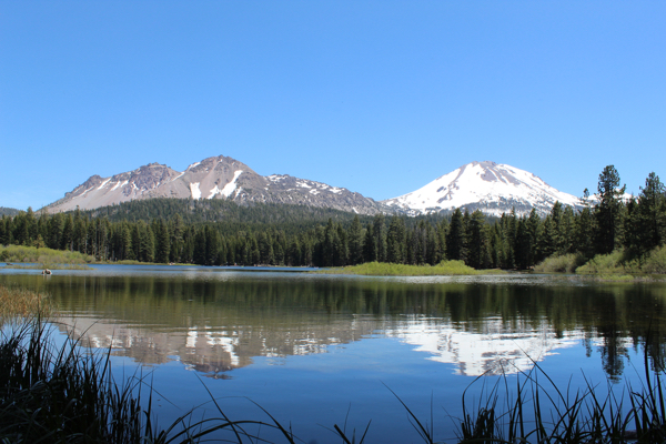 Lassen Volcanic National Travel Guide Manzanita Lake Reflection