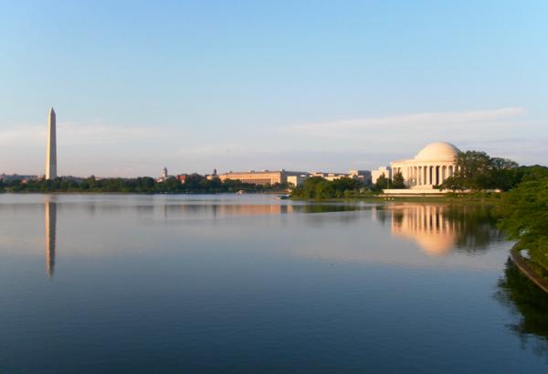 Washington DC Travel Guide - Tidal Basin Reflection